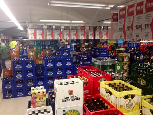 Rewe Getränkemarkt - Getränkemarkt - Heiglhofstr. 4, Hadern, München ...
