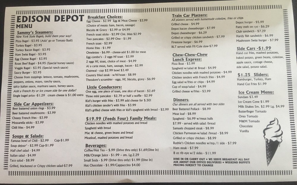 Carte But Document.Here S The Menu Most Is Ala Carte But Some Comes With