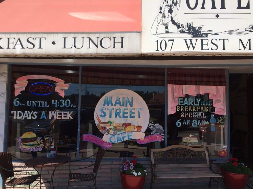 Main Street Cafe Monroe Restaurants Wa