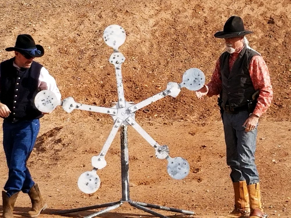 Sidney Paul Gordon Shooting Range: 19 Rockcliff Rd, La Luz, NM