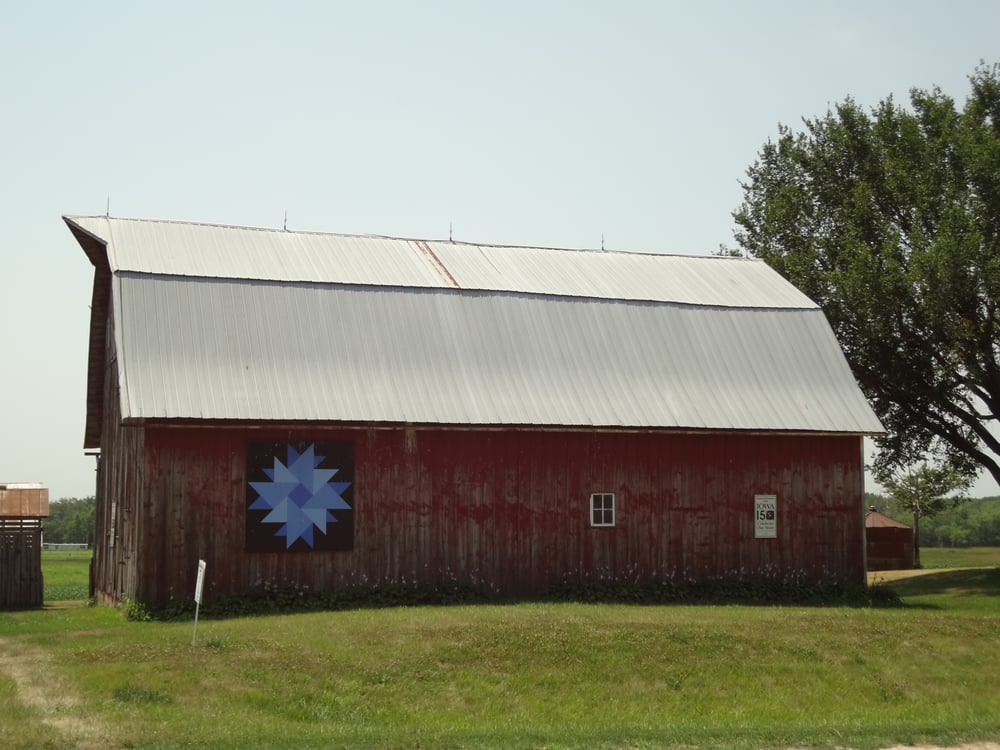 Barn Quilts Of Washington County: 205 W Main St, Washington, IA