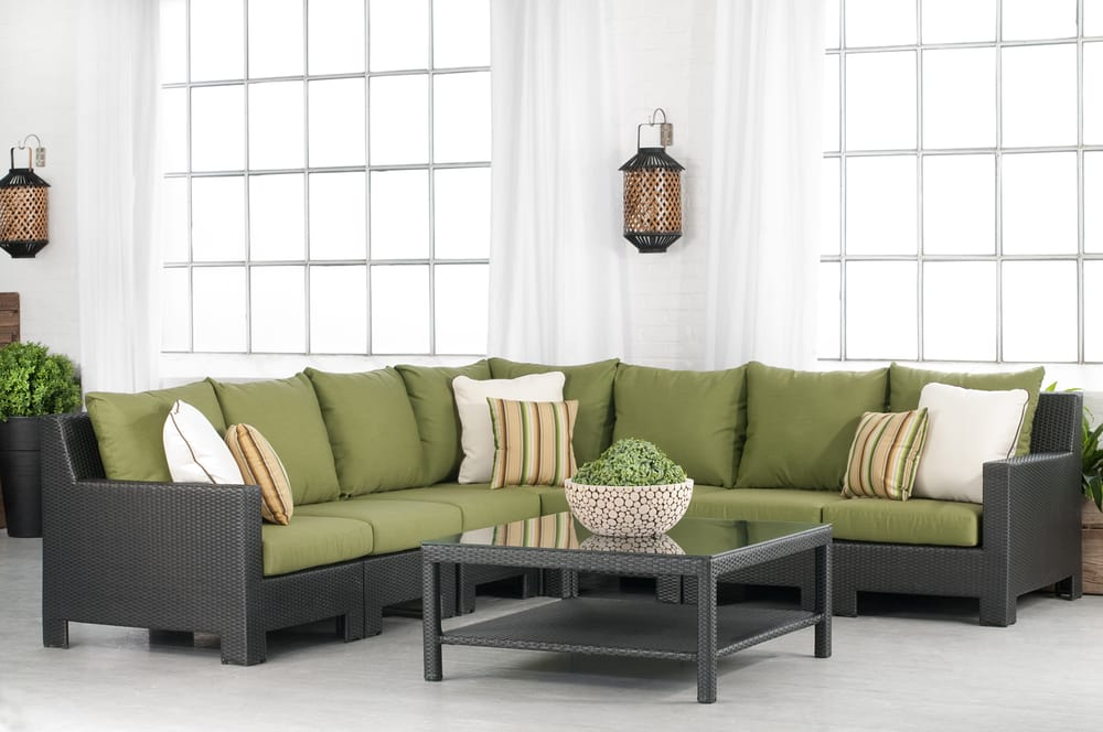 ... Columbia Patio Furniture Outdoor Wicker Sectional With A Modern Luxury  Design In Toronto Jordan Patio Furniture ...