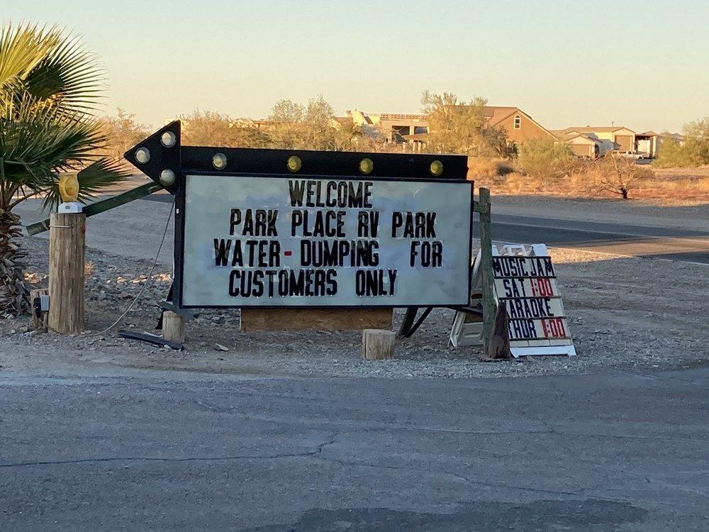 Park Place RV Park: 250 N Riggles Ave, Quartzsite, AZ