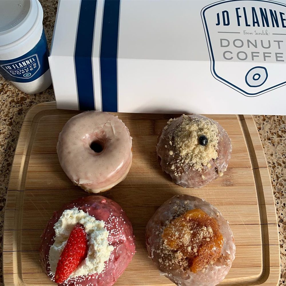 JD Flannel Donuts and Coffee