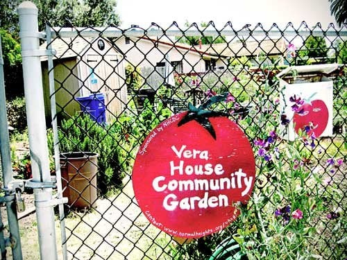 Vera House Community Garden: 3403 N Mountain View Dr, San Diego, CA