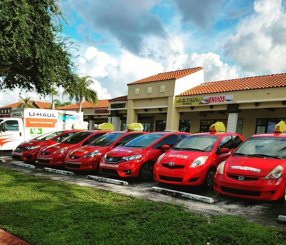 AB Auto Driving & Traffic School: 21465 NW 2nd Ave, Miami, FL