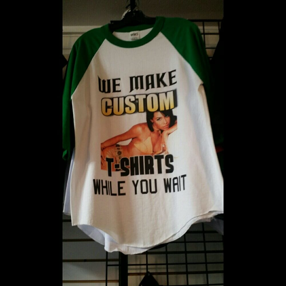 We Make Custom Single T Shirts Too No Job Is Too Small Yelp