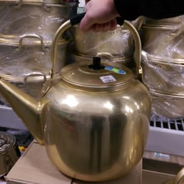 Photo of Shin Shin Enterprises - Lakewood, WA, United States. Whoa!! A humongous tea pot!! I couldnt imagine carrying and trying to pour hot liquid from this thing!!!