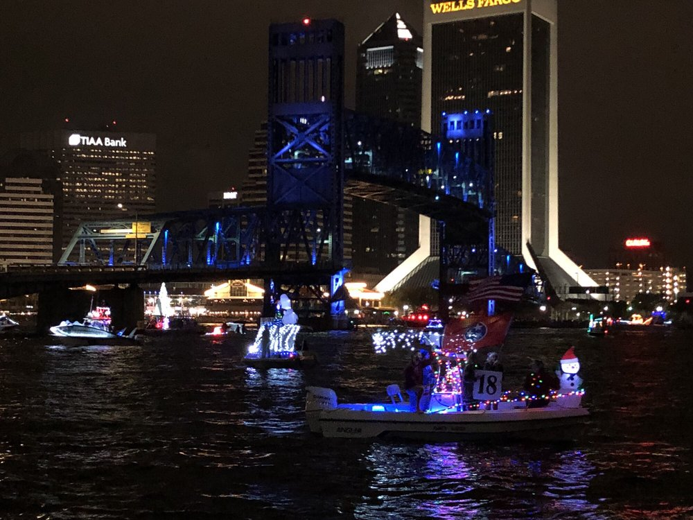 Jacksonville Light Boat Parade & Fireworks Spectacular