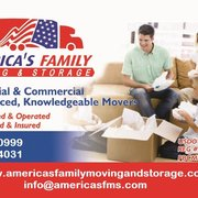 Americau0027s Family Moving And Storage