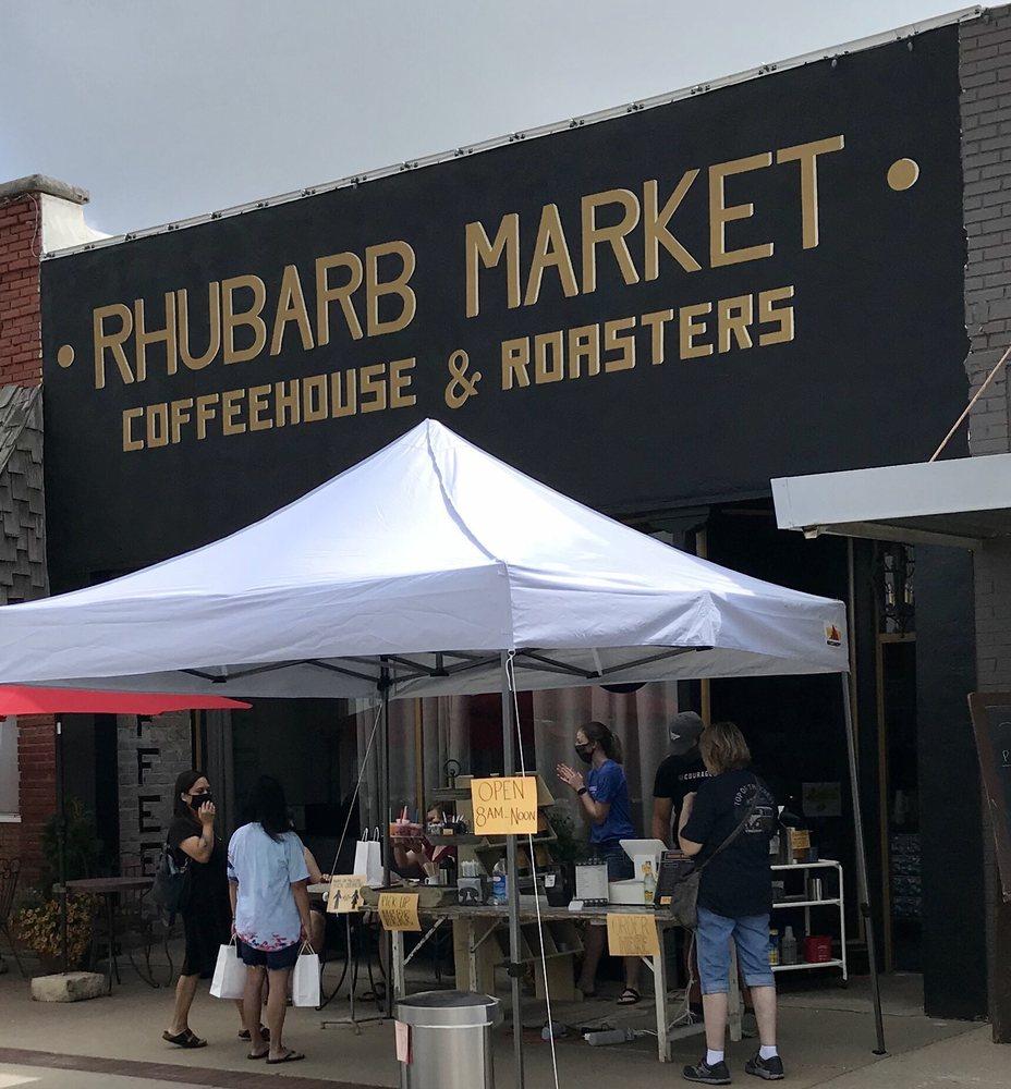 Rhubarb Market Coffeehouse & Roasters: Hillsboro, KS