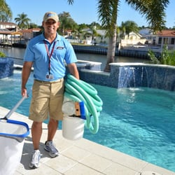 Pool service Door Hanger Photo Of Bay Area Pool Service Port Charlotte Fl United States Coast Hills Pools Inc Bay Area Pool Service Pool Cleaners 3280 55a Tamiami Trail Port