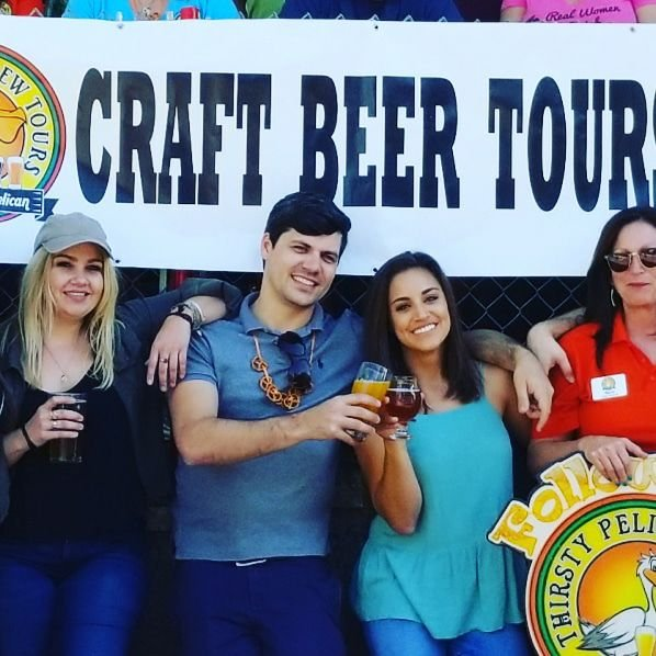 Brew Tours By Thirsty Pelican: 153 2nd Ave N, Saint Petersburg, FL