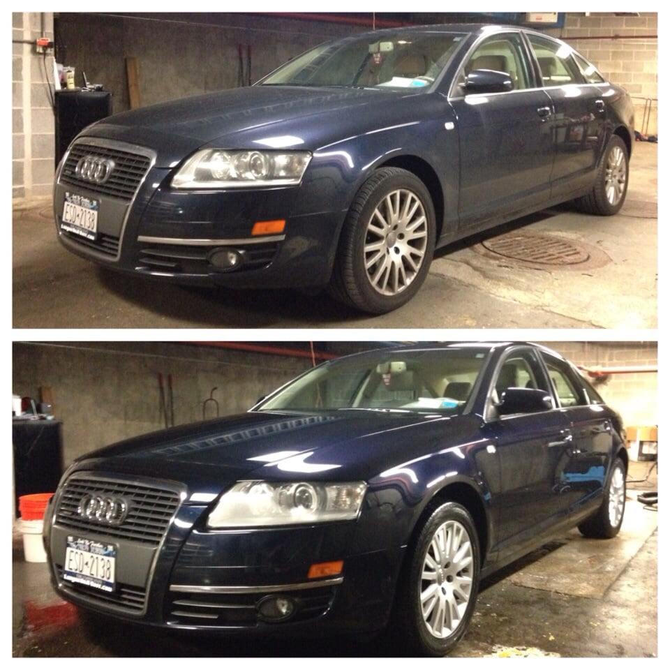 Before And After Detailing Audi A6