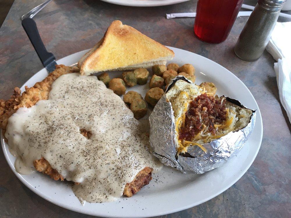 Ole' West Bean & Burger: 309 W Corsicana St, Athens, TX