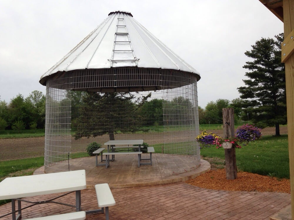 Grain Silo Converted Into A Cute Gazebo Yelp