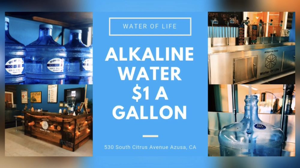 Alkaline Water of Life: 530 S Citrus Ave, Azusa, CA