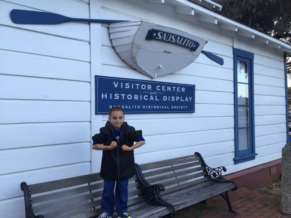 Sausalito Visitor Center and Historical Society aka Ice House