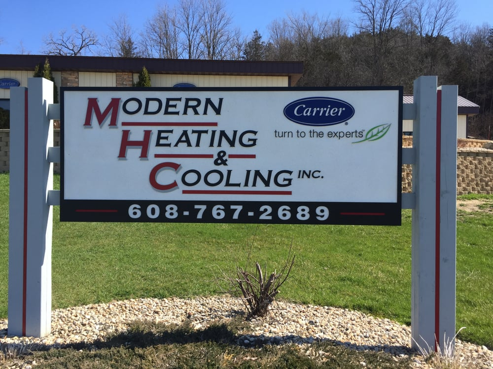 Modern Heating & Cooling: 10050 US Hwy 14, Black Earth, WI