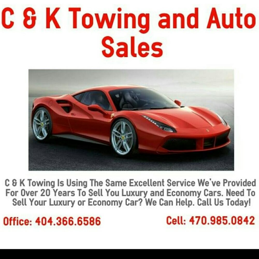 C & K 24 Hour Wrecker Service - Towing - 3323 Ward Dr SW, Atlanta ...