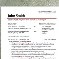 resume reviews