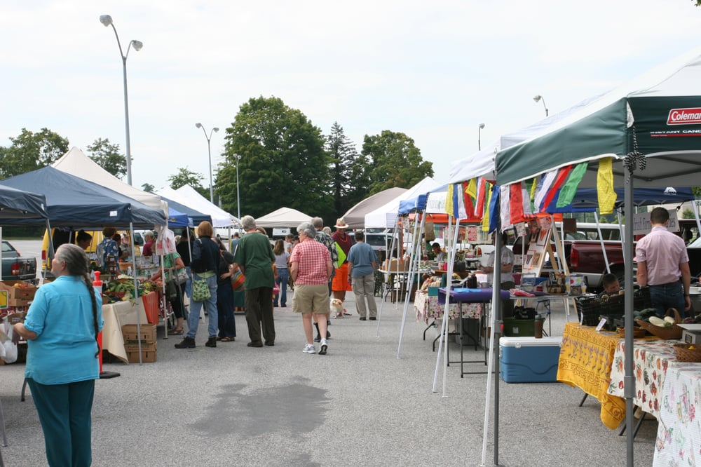 Community Farmers Market: 1411 S Main St, Blacksburg, VA