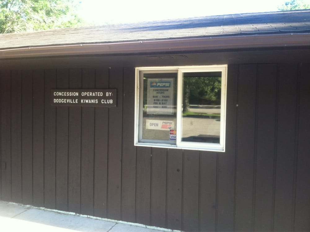 Kiwanis Concession Stand: 4175 State Rd 23, Dodgeville, WI