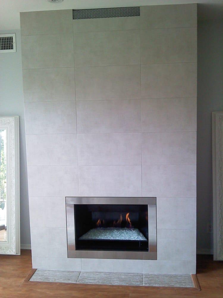 Modern Using 12 X 24 Stone Tile Yelp