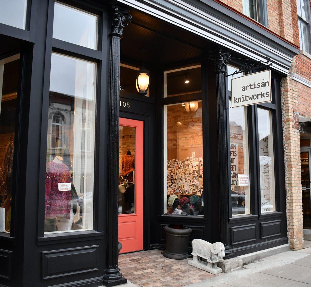 Artisan Knitworks: 105 N Main St, Chelsea, MI