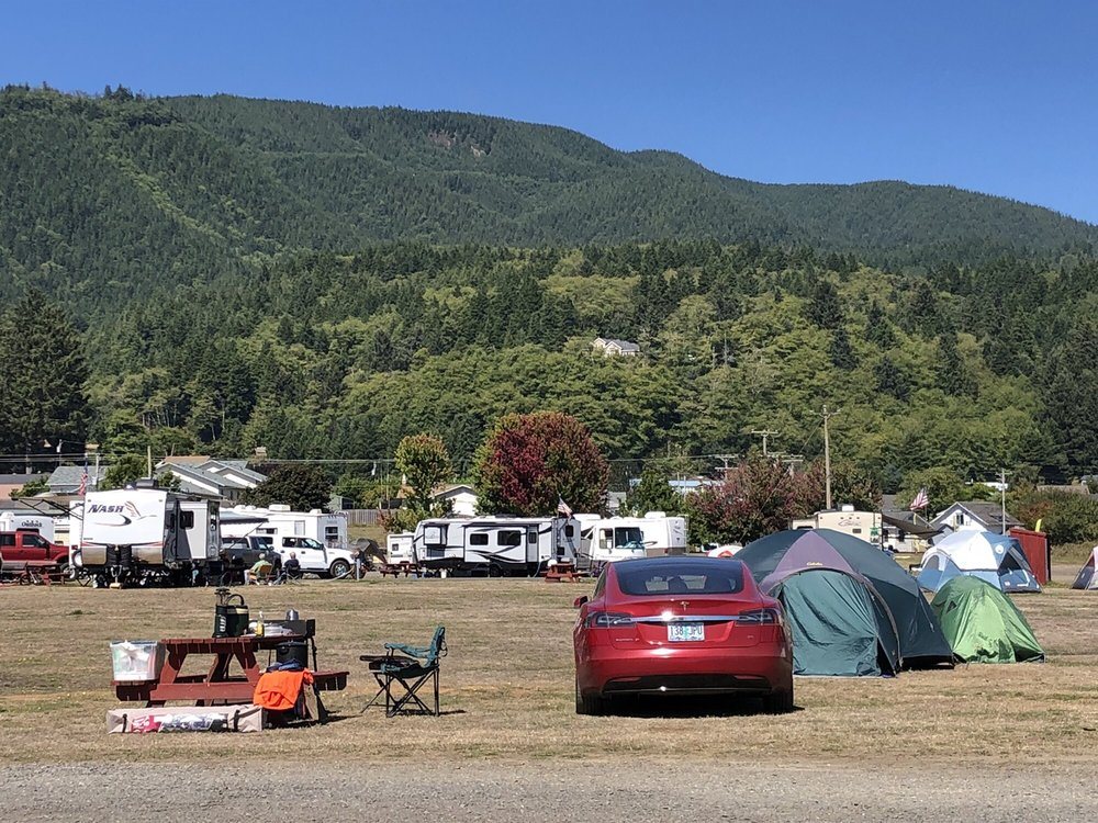 Old Mill RV Park & Event Center: 210 3rd St, Garibaldi, OR
