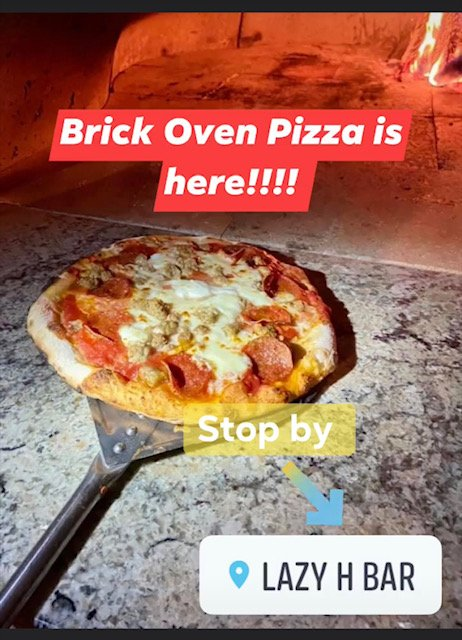 Lazy H Bar & Brick Oven Pizza: 3905 N Main St, Liberty, TX