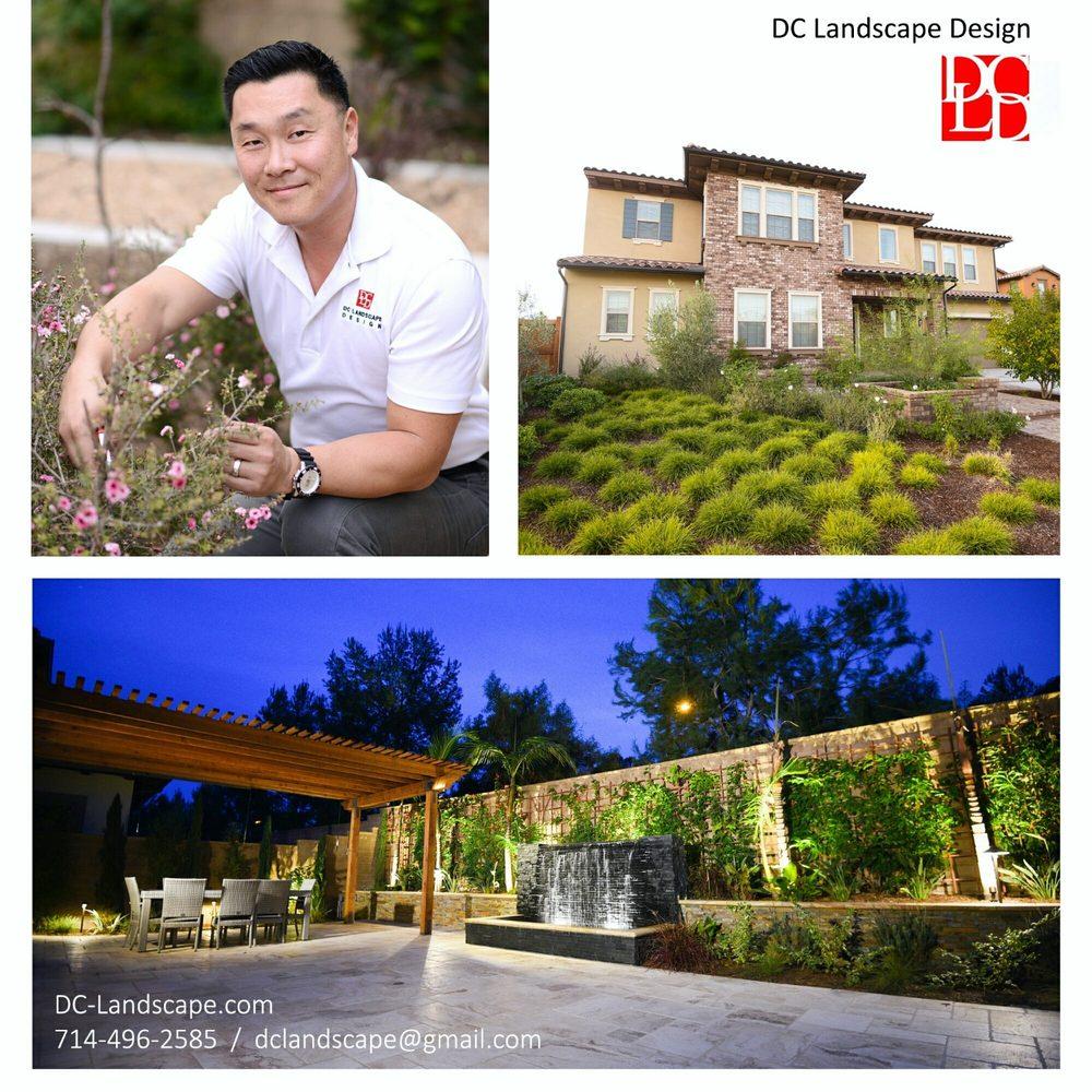 DC Landscape Design & Construction: 700 Hillsboro Pl, Fullerton, CA