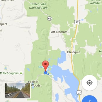 Crater Lake Zipline Reviews Ziplining OR - Crater lake on us map