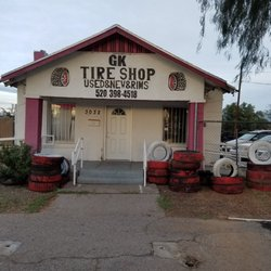 Gk Tire Shop Tires 3032 N Stone Ave Keeling Tucson Az Phone