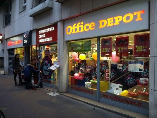 office depot material de oficina 46 rue de vouill