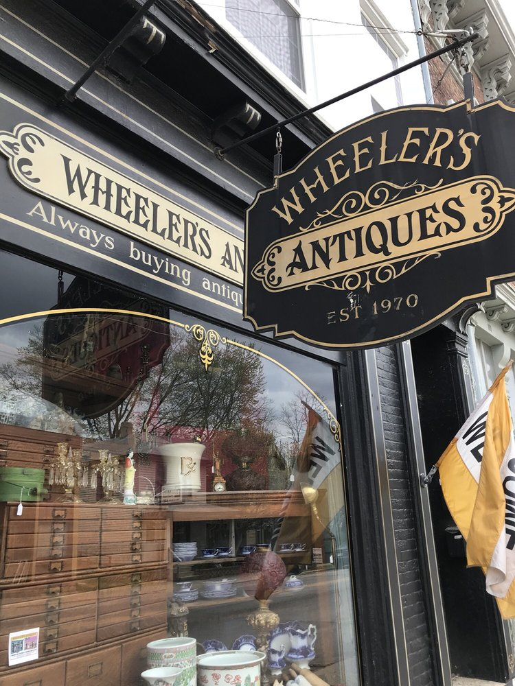 Wheeler's Antiques: 107 W Main St, Centerville, IN