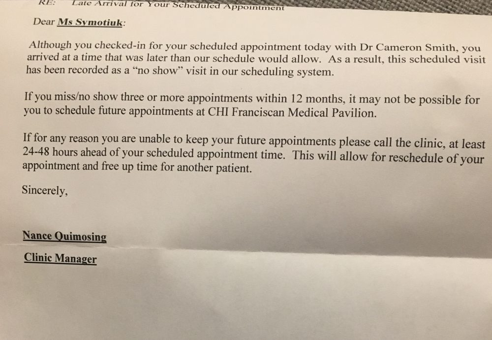 CHI Franciscan - 34 Reviews - Medical Centers - 16045 1st