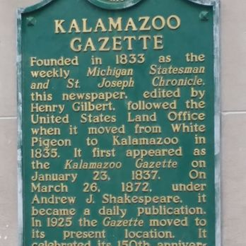 Kalamazoo Gazette - Print Media - 401 S Burdick St