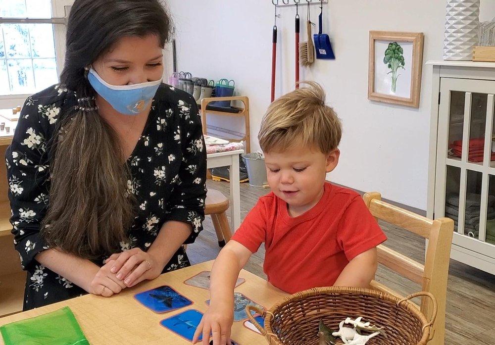 Guidepost Montessori at Burke: 6000 Schoolhouse Woods Rd, Burke, VA