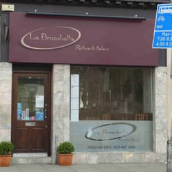 La bruschetta italian restaurants haymarket for 7 clifton terrace edinburgh eh12 5dr