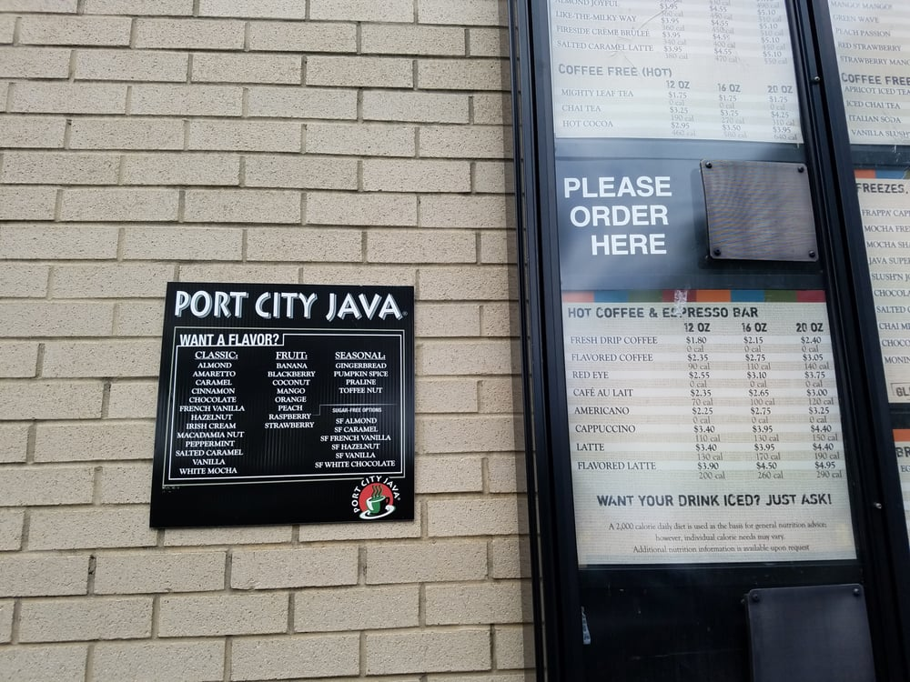 Port city java 11 reviews coffee tea shops 8211 for 4 t s diner rockingham nc