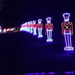 photo of christmas nights of lights at the hank mobile al united states