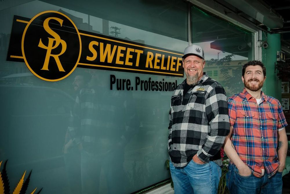 Sweet Relief: 1444 Commercial St, Astoria, OR