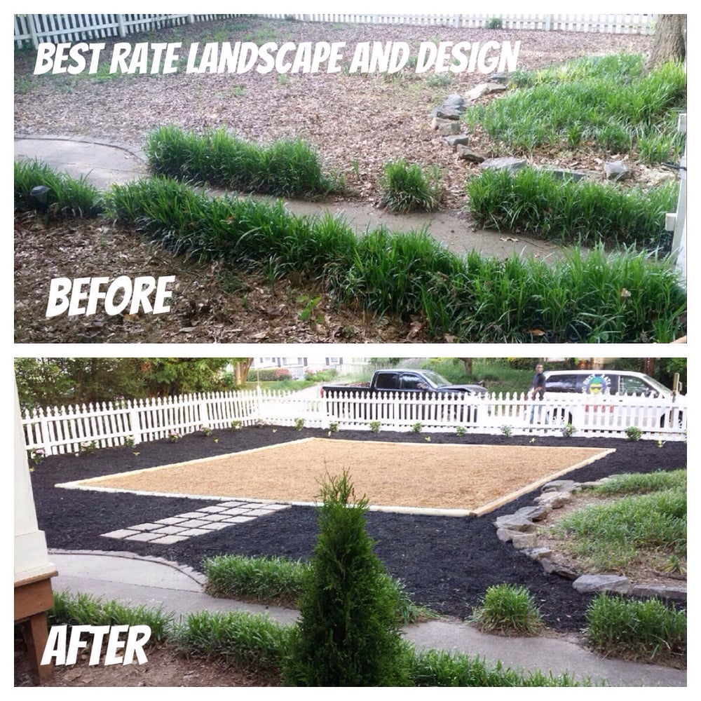 Photos For Best Rate Landscape Design: This Is Our Most Recent Project And Design. It's A Low
