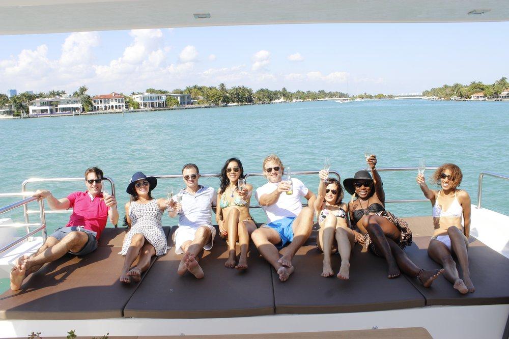 Party Boat Charter: 1635 N Bayshore Dr, Miami, FL