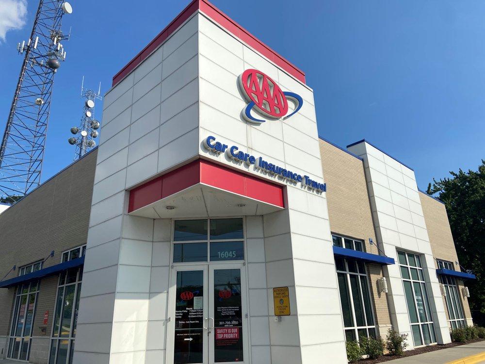 AAA - Gaithersburg Car Care Insurance Travel Center: 16045 Shady Grove Rd, Gaithersburg, MD