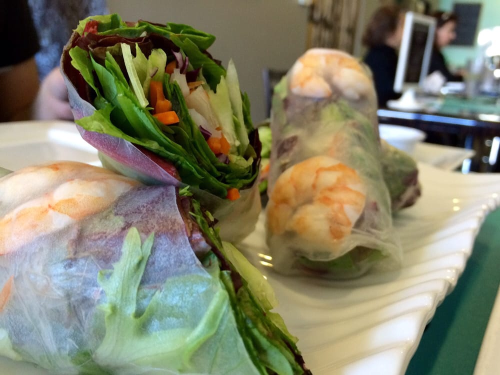 Shrimp spring roll yelp for Aiyara thai cuisine