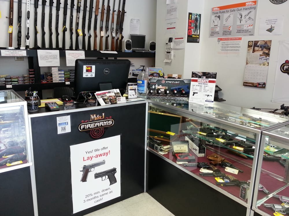 M And J Firearms: 24 S Main St, Fortville, IN