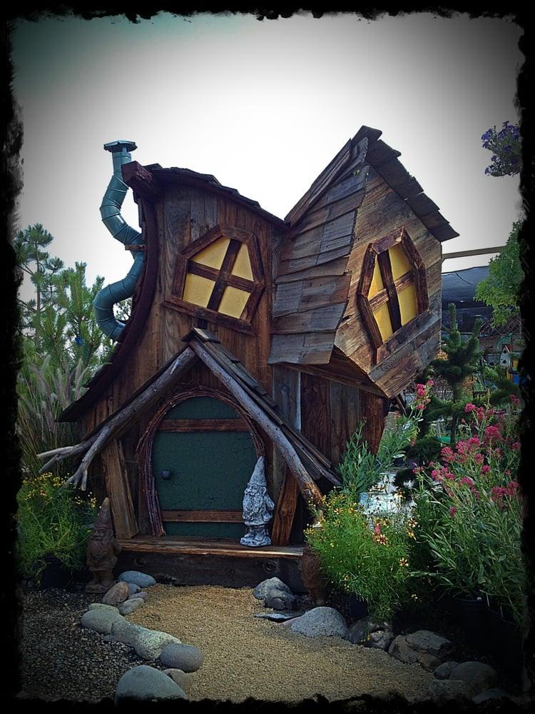 Reno Paint Mart >> Custom built Whimsical garden sheds! | Yelp