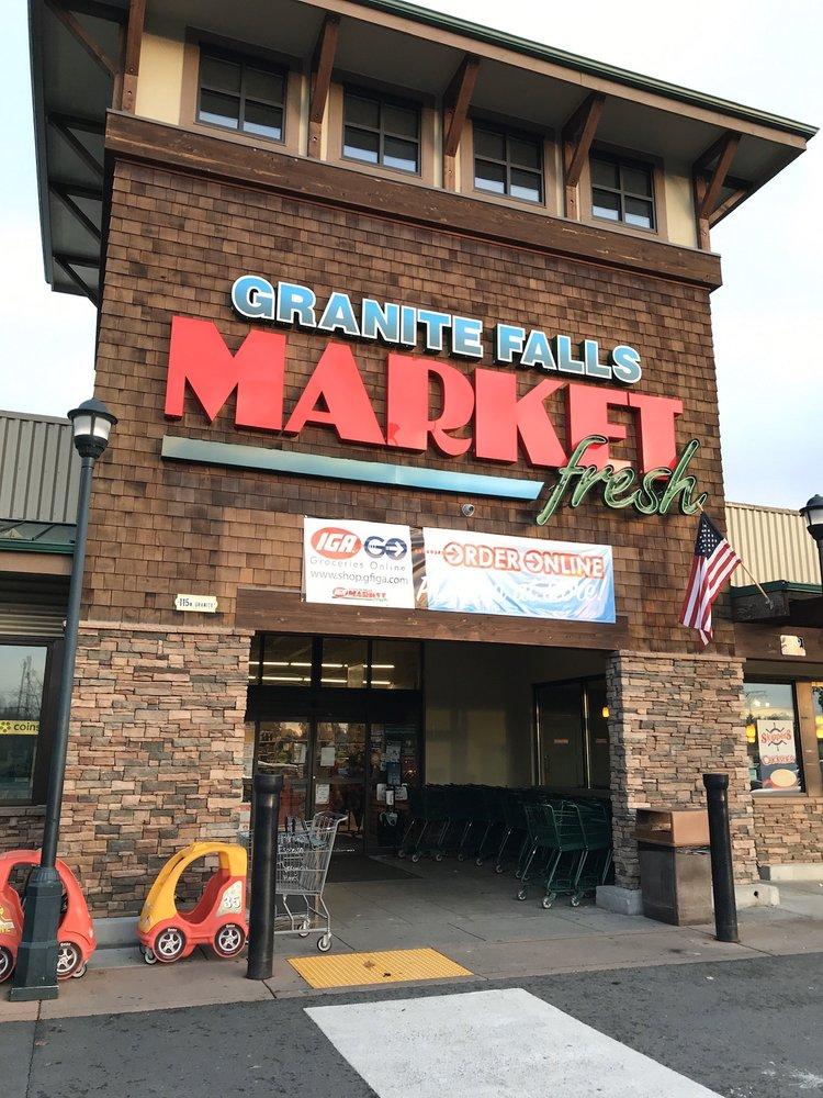 IGA - Granite Falls: 115 N Granite Ave, Granite Falls, WA